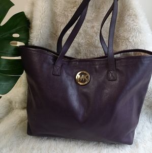 Michael Kors carryall leather tote